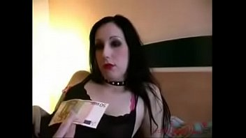 German Emo Girl Fucked in the Ass for Money - jetztfickmich.com
