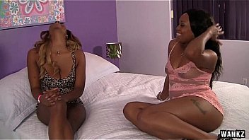 WANKZ – Nubile Ebony Lesbian Babe Has Her Pussy Licked For First Time