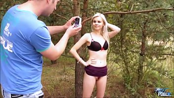 Watch Fake agent found his next blonde victim and fucked her in public preview