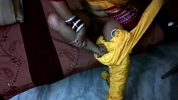 Hot south indian bhabhi shilpa in yellow shalwar suit pussy fucking