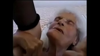 old woman fucked by young man
