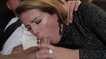 BUMS BUERO - German brunette secretary takes on boss dick