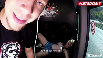 LETSDOEIT - Horny German Teen Lia Louise Blows And Gets Drilled Deep On The Bang Bus