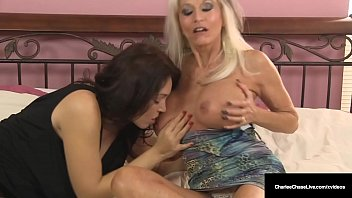 Watch Sexual deviants Charlee Chase & Sally D'Angelo, are wet with desire as they share Charlee's Husband's stiff shaft, milking it until it explodes! Full Video & Charlee Chase Live @ CharleeChaseLive.com! preview