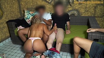 German MILF From Berlin Gives A Blowjob With Facial - GermanPornCasting&period
