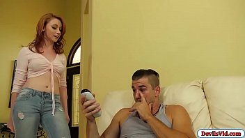 Athena fucks stepbro after catching him sniffing her underwear