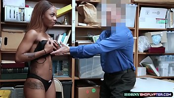 Watch Horny dude Officer penetrates Sarah Banks wet pussy so deep and hard preview