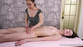 Virgin b. Sofia Dolgovyaz first time pussy rubbed