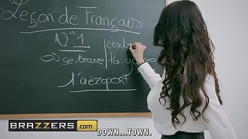 A teacher is fucked by a student