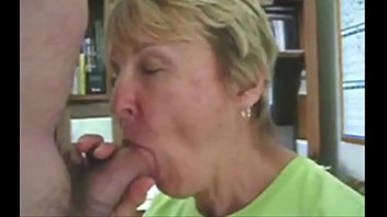 Grandma suck big cock homemade