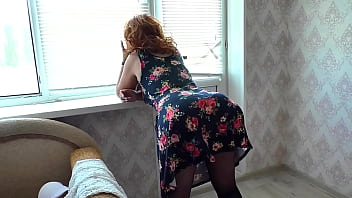 My mom's tight anal for son's big cock