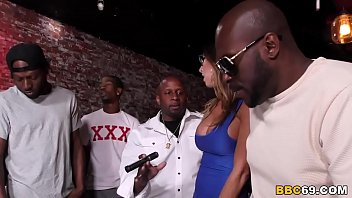 Watch Dava Foxx Dreams Come True With This Interracial Gangbang preview