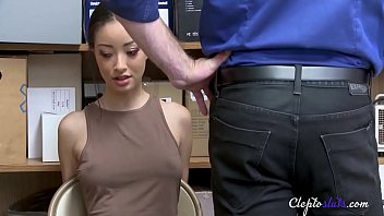 Babe fucked due to stealing REAL