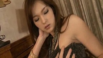Mei Haruka hot Asian maid is thoroughly fucked in a threesome