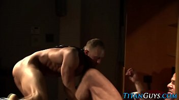 Bdsm studs dicksucking and tugging