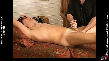 Luca started jacking faster as I slid the vibrator up his ass