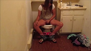 real hidden bathroom cam caught young girl playing with her self amp cumming she never knew was on a or will be online for the world to see