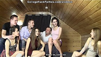 first sexual experiment on sex party