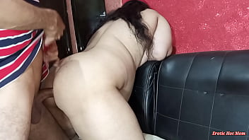 Canadian slut fucked in pov doggystyle on black sofa - netu and hubby - in homemade latest indian sex, asian punjabi whore ass fucked by European cock, she needs a hard ass fucking for her gaand ass
