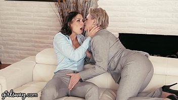 Power MILF Helps Young Babe Find Herself