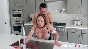 Maid Made To Fuck Boss When He Wishes