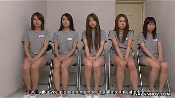 Female Asian prisoners getting anally examined