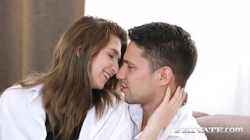 Gorgeous teen brunette Cornelia gets fucked from behind by her boyfriend in passionate anal action after getting on her knees for a nice blowjob. Full Flick & 1000's More at Private.com!