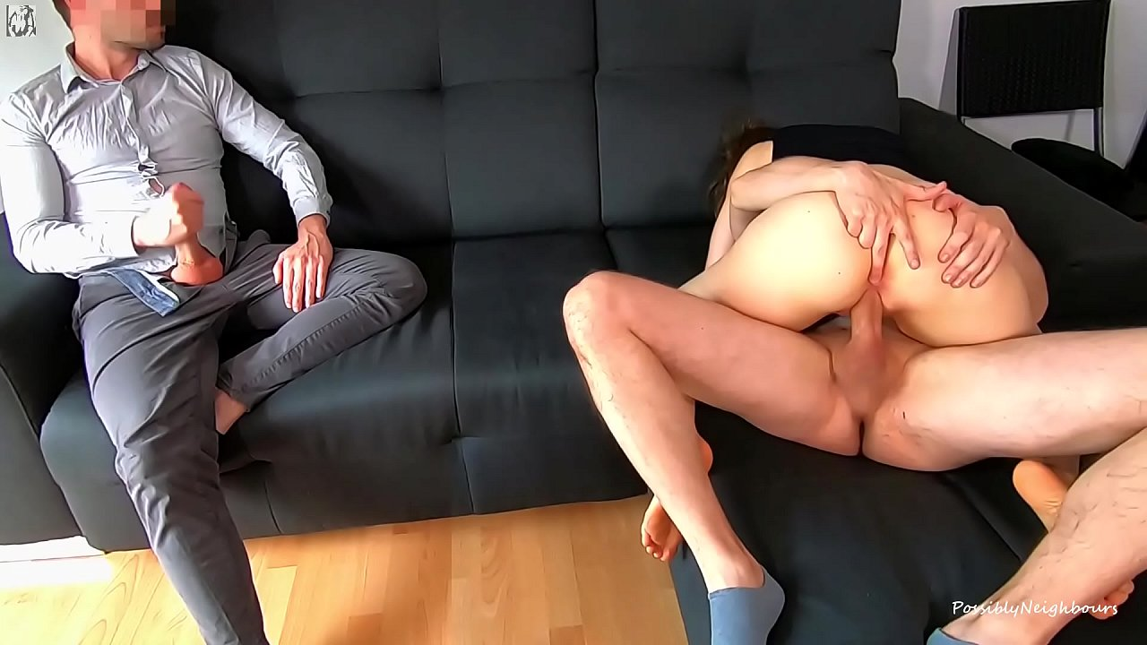 Wife Casting Husband Watching