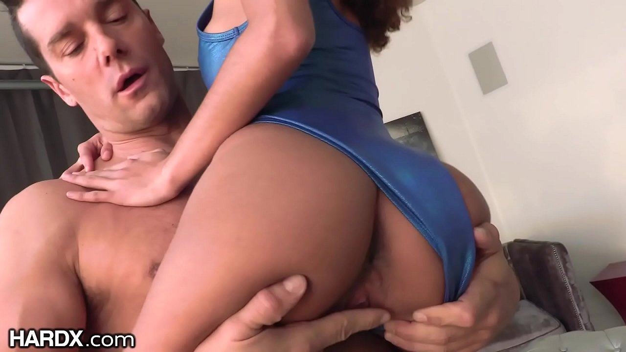 Skinny Ebony Riding Dick