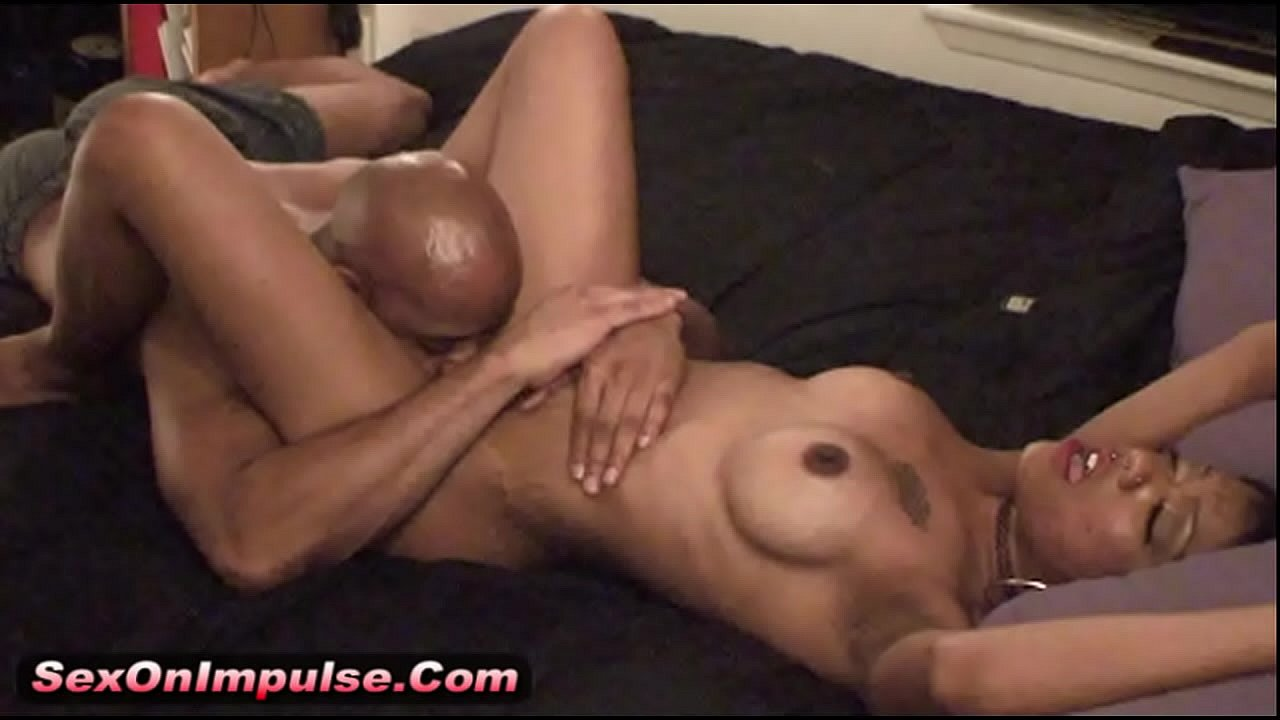 Ebony Teen Fucked White Guy