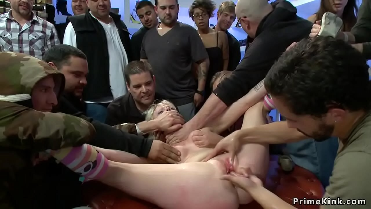 Forced cock in ass