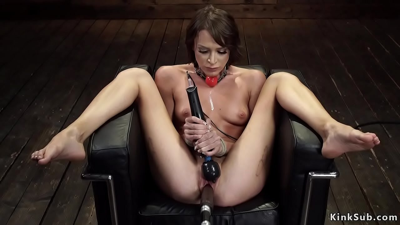 Asian Cutie Sofie Rides The Sybian In Tights