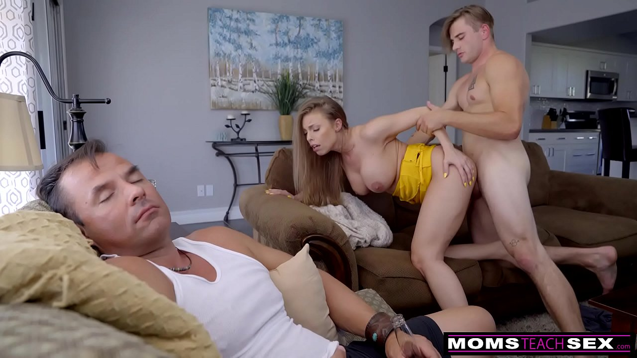 Step Son Fucks Mom Birthday