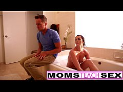 Moms teach sex with step sons cock and teen girlfriend