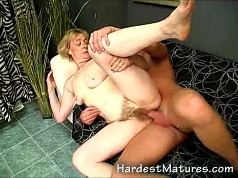 Hairy snatch Granny and her