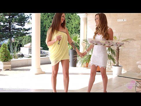 Hot lesbian lovemaking by Sapphic Erotica with Capri Anderson and Angelina Brill