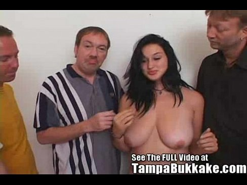 Tampa bukkake fucking a british woman