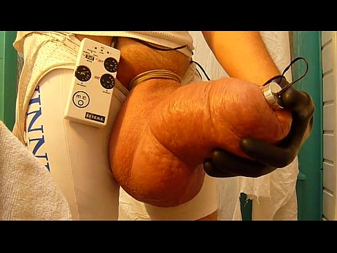 Scrotum saline dvd sexual infusion on