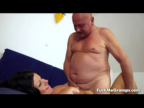 Teen fucked unprotected by old