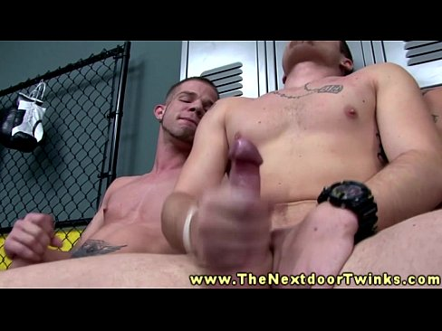 Gay twink jerk off