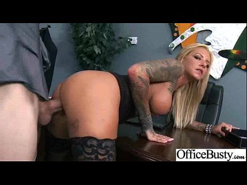 Busty Sexy Worker Girl (britney shannon) Get Hard Style Banged In Office clip-07