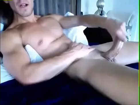 Hot Guy Masturbating Cum