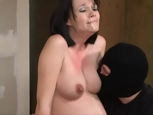 mature sucks cum out cock
