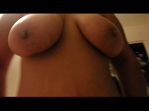 big bouncy natural tits