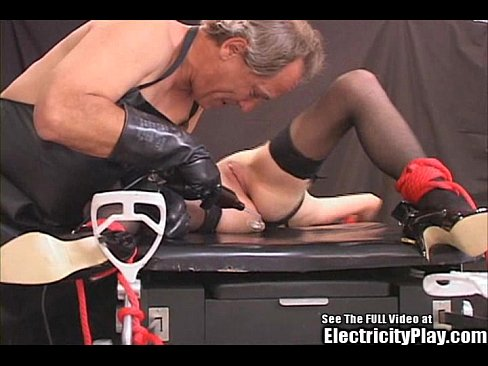 Bdsm with electricity
