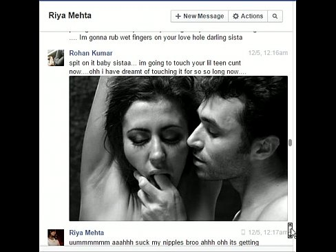 Indian not brother rohan fucks sister riya on facebook chat - XNXX COM