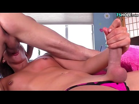 Man Loves Shemale Cock