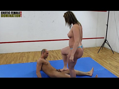 Facesitting mixed wrestling gay shemale