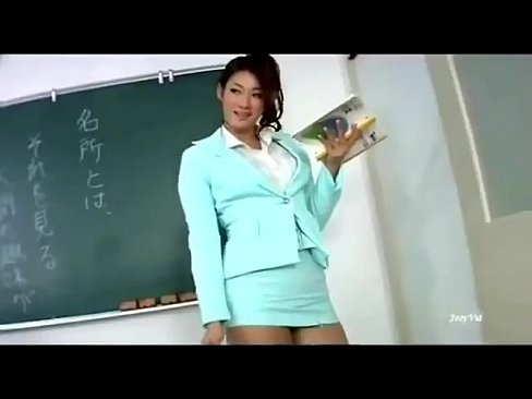 Sexy asian teacher
