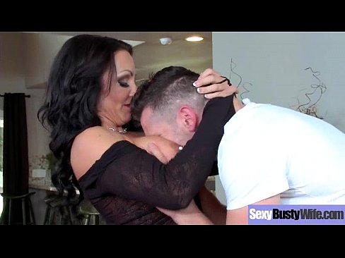 Sexy Big Tits Mommy (Ashton Blake) Enjoying Hard Style Sex Action vid-02